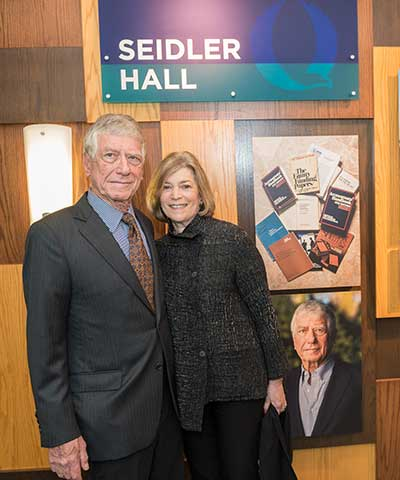 Photos of Dr. and Mrs. Seidler