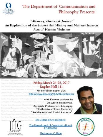 Memory, History & Justice flyer