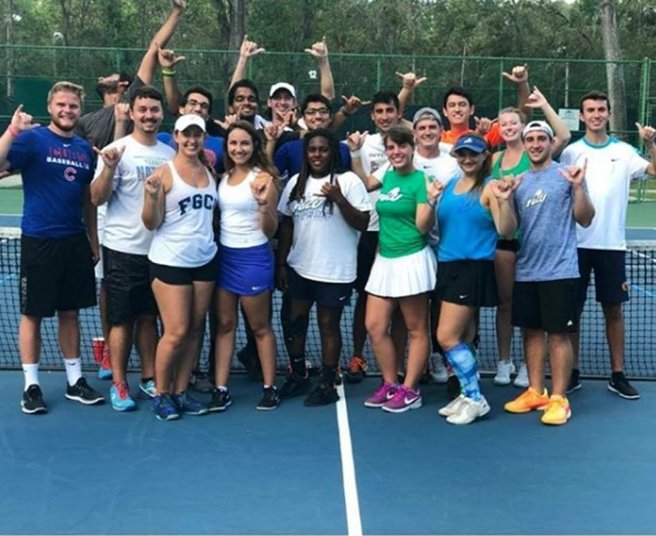 Tennis Club photo from UCF tournament